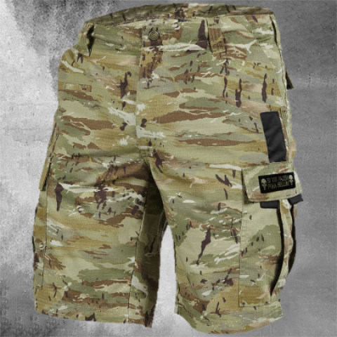 Mens Camouflage Outdoor Shorts