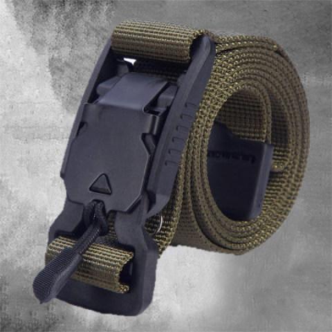 Outdoor Multifunctional Canvas Tactical Belt
