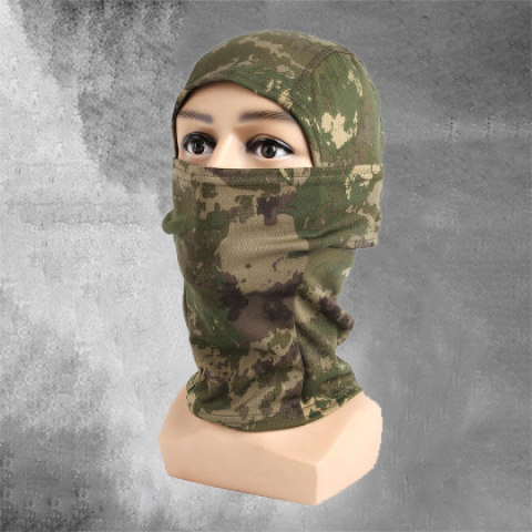 Cp Python Pattern Camouflage Tactical Headgear Riding Protective Quick-drying Mask Camouflage Sunscreen Outdoor Turban Scarf Scarf