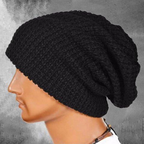Outdoor knitted sweater hat