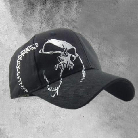 Skull Baseball Cap Washed Sun Hat