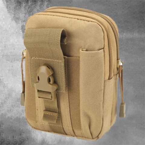Men's sports pockets outdoor tactical pockets camouflage running accessory phone bag