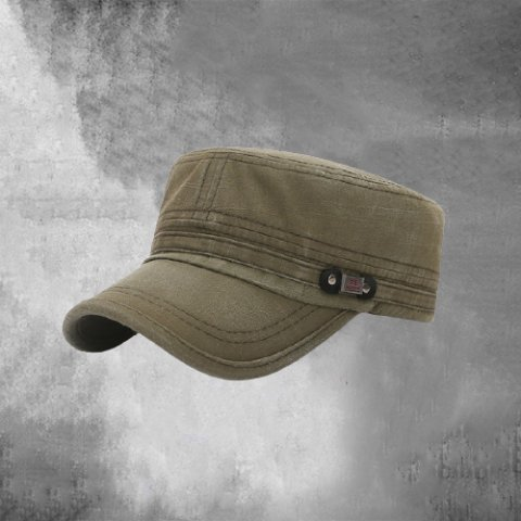 Mens Flat Top Outdoor Hat
