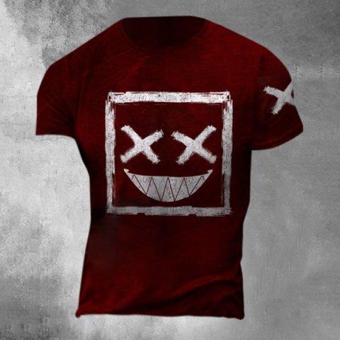 Mens Smile Casual T-shirt