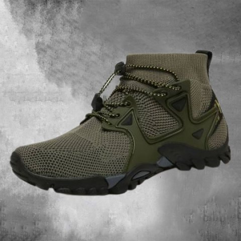 2021 spring and summer new men's shoes outdoor shoes leisure cross-border large size outdoor flying woven hiking hiking shoes 319