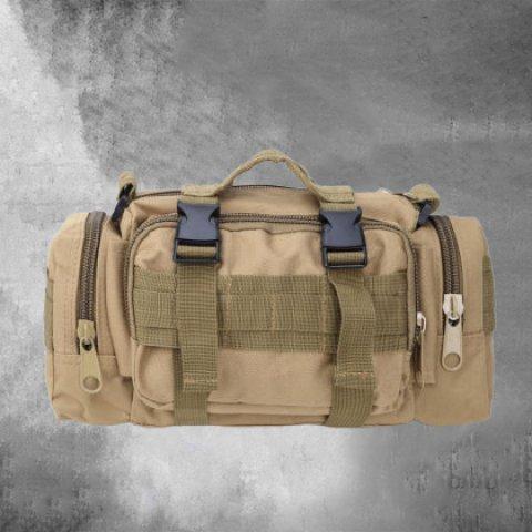 Mens outdoor multifunctional crossbody shoulder bag