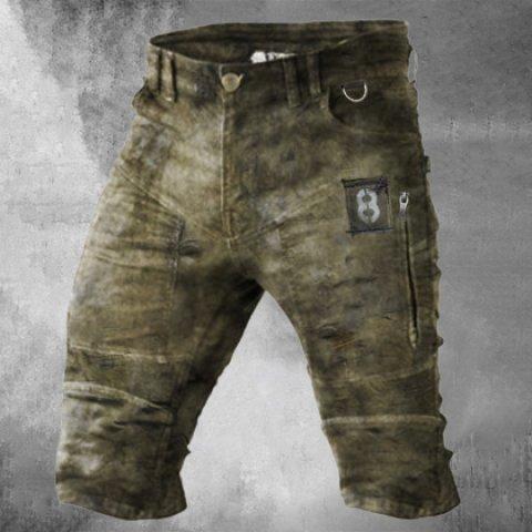 Mens outdoor tactical shorts