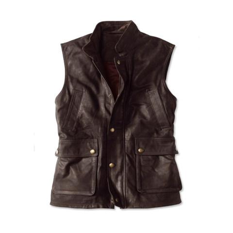 Retro fashion multi pocket design functional jacket