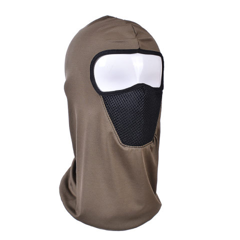 Thin outdoor riding mask