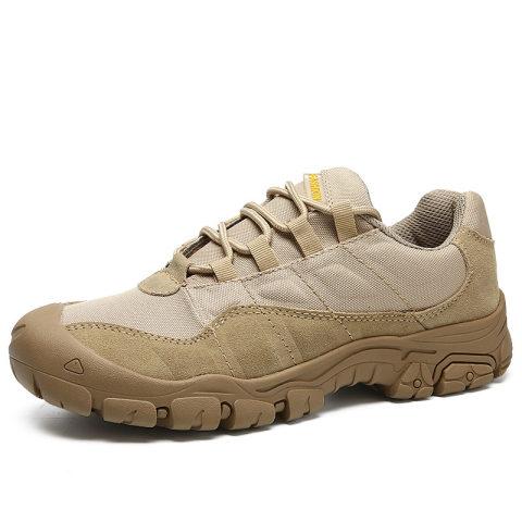 Mens outdoor retro hiking shoes
