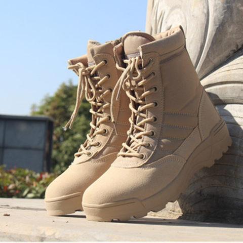 Outdoor high-top combat tactical boots