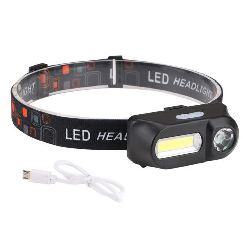 Outdoor usb rechargeable waterproof LED strong headlight