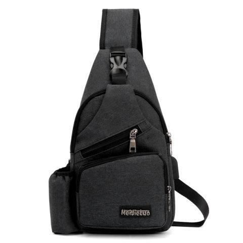 Outdoor Travel USB Charging Port Sling Bag