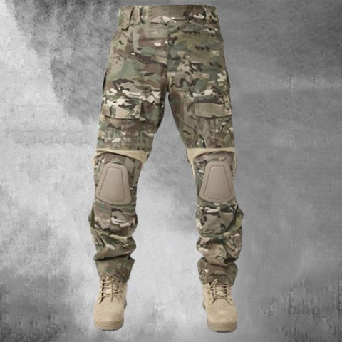 Mens Fashion Outdoor Tactical Camouflage Trousers