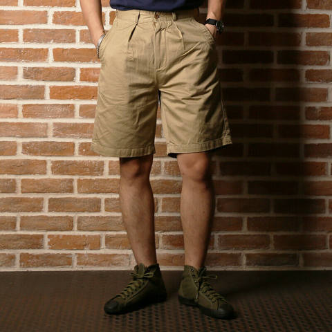 1955 Us Army Khaki Uniform Shorts