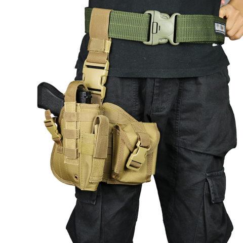 Tactical leg hanger CS tactical leg bag