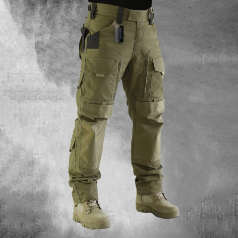 Mens Outdoor Tactical  Multi Pockets Trousers