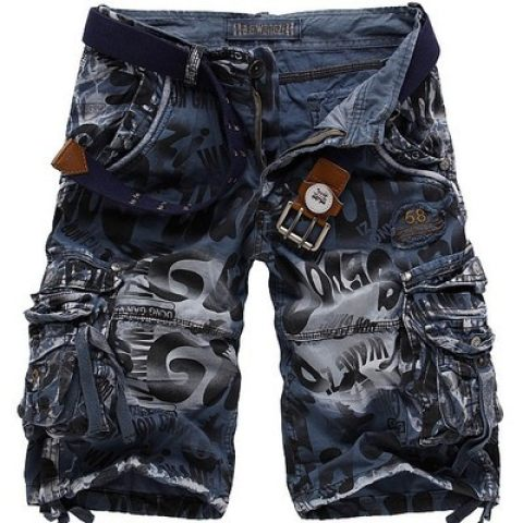 Mens Camouflage Casual Pants