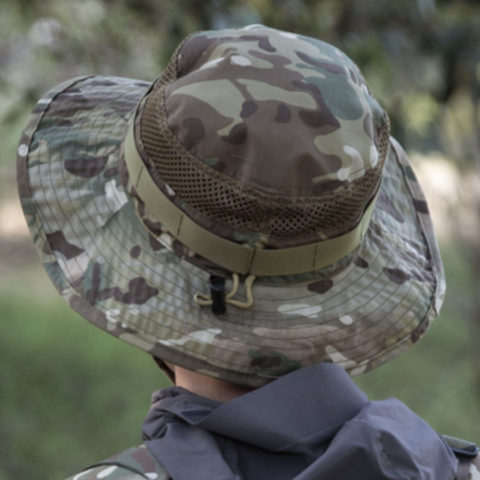 Outdoor Camouflage Sunscreen Fishing Hat