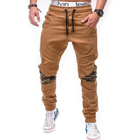 Stitching Camouflage Trousers