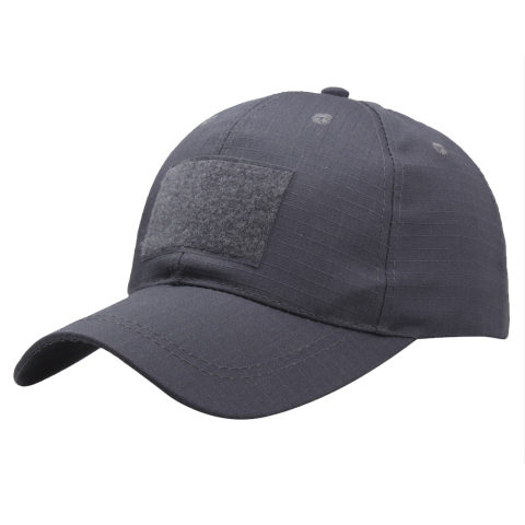 Wholesale solid color baseball caps Velcro caps outdoor sun visor military training cap military fan hats in stock