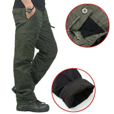 Casual Workwear Outdoor Multi-pocket Trousers
