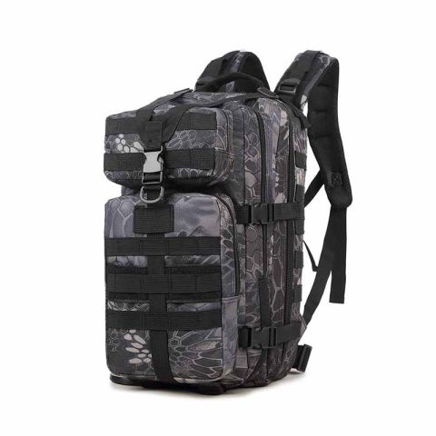 Junsheng increase 3p attack tactical backpack army fan outdoor shoulder mountaineering backpack waterproof cs camouflage bag 35l
