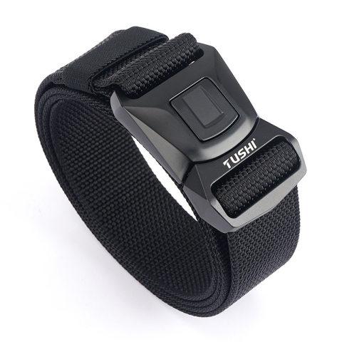 Safety buckle nylon belt men's cs combat belt outdoor sports multifunctional tactical belt