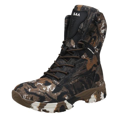 Warm and velvet snow boots