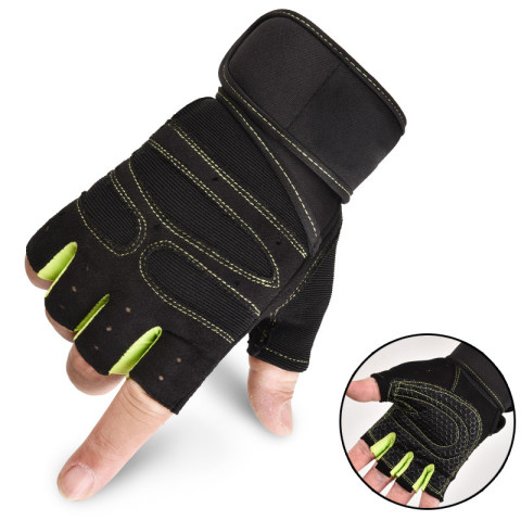Tactical riding half-finger gloves