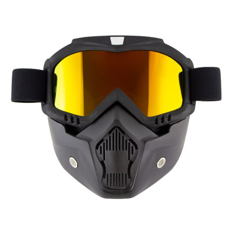 Retro Harley face mask goggles off-road motorcycle racing goggles outdoor riding ski glasses