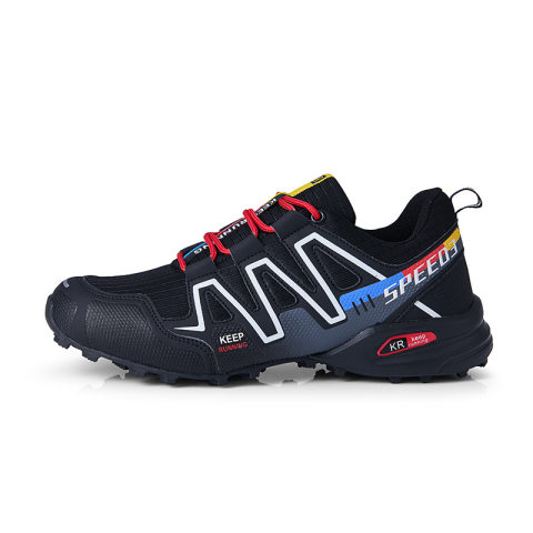 Mens outdoor sports breathable tactical shoes