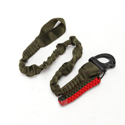 Outdoor tactical climbing safety rope multifunctional nylon