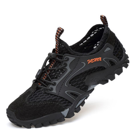Mens outdoor sports breathable upstream shoe