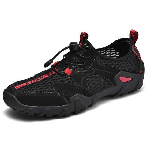 Mens outdoor sports breathable tactical shoes upstream shoe
