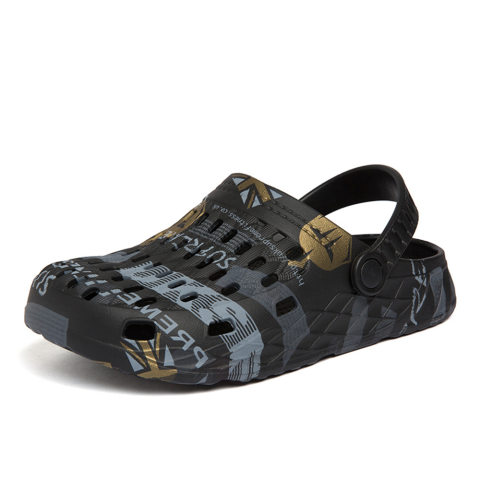 Mens beach breathable travel slippers sandals