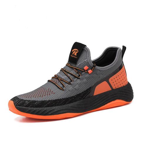 Simple printed comfortable sneakers