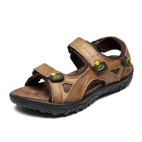 Mens lightweight outdoor leisure breathable river sandals