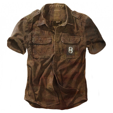 Mens Outdoor Tactical Multi-pocket Shirt Retro Shirt