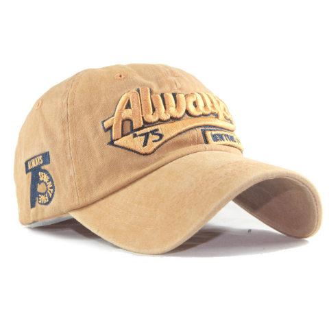 Men's and women's fashion distressed worn baseball cap