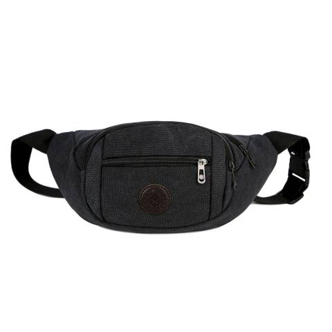 Mens and Womens Outdoor Canvas Belt Bag