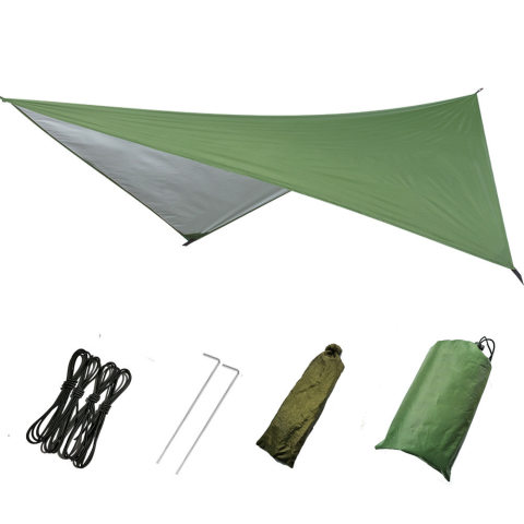 Multifunctional canopy waterproof sunscreen outdoor tent camping ground cloth