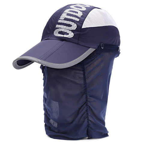 Outdoor portable folding baseball caps for men and women mountaineering sun hats
