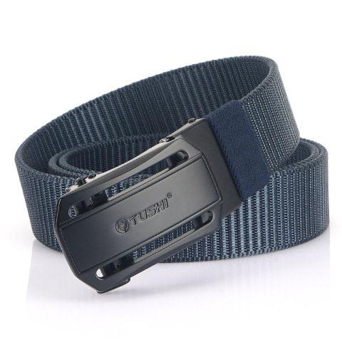 Outdoor leisure automatic buckle nylon canvas belt