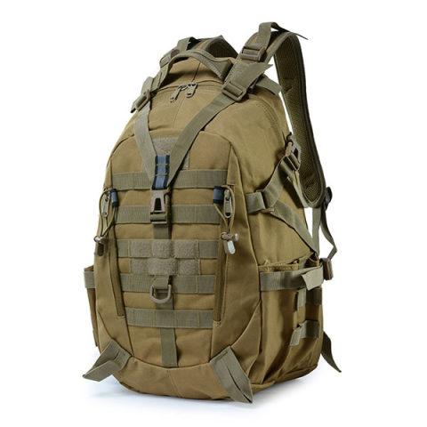 Travel outdoor backpack camouflage tactical bag backpack double shoulder sports backpack can hang waist bag