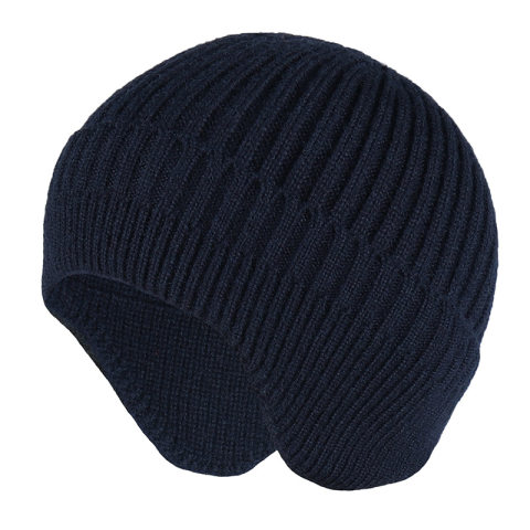 Men's Outdoor Warm Ear Protection Knitted Hat