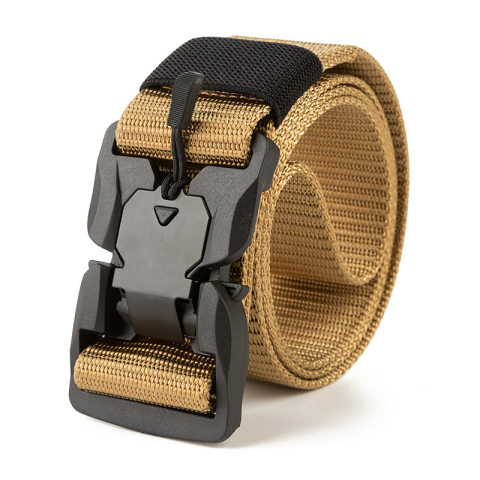 Outdoor sports solid color nylon belt