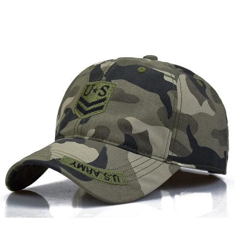 Outdoor leisure sports cap cotton cap