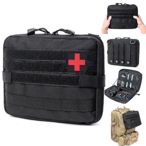 Medical Kit Bag Molle Belt Backpack EDC Emergency Pack