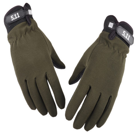 Men's tactical full-finger military fan training climbing fitness gloves non-slip wear-resistant outdoor cycling gloves
